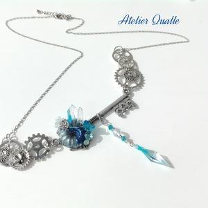 『海底鉱脈の鍵』ネックレス 銀古美