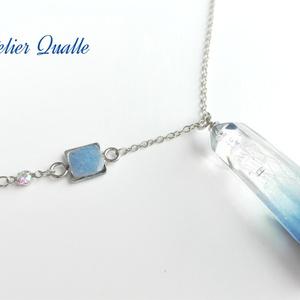 ギヤマンクラゲの水晶*ネックレス
