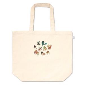 植物標本のトートバッグ