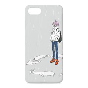 白いオオサンショウウオのiPhone7/8ケース