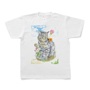 動物Tシャツ ネコ