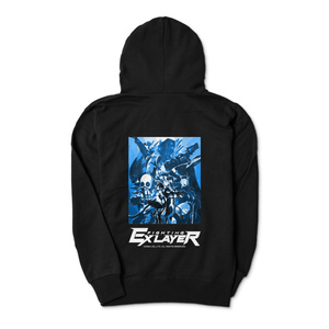 FIGHTING EX LAYER - Zip-up Hoodie (Blue)