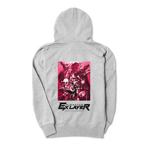 FIGHTING EX LAYER - Zip-up Hoodie (Pink)