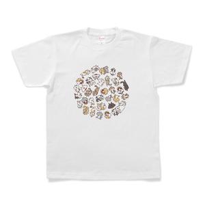 にゃんこサークルTシャツ