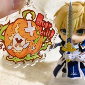 かぼちゃゲイザーアクリルキーホルダー