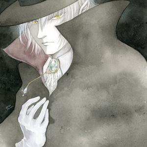 額装原画 『魔族の者』