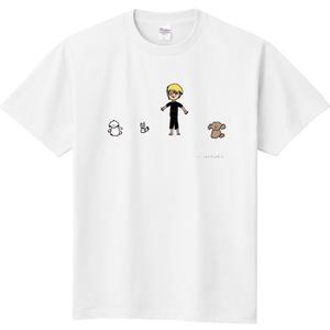 結城汰郎デザイン『ソーシャルディスタンス』Tシャツ