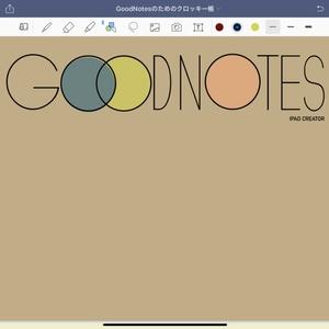 GoodNotesのためのクロッキー帳テンプレート(ver.1.0)