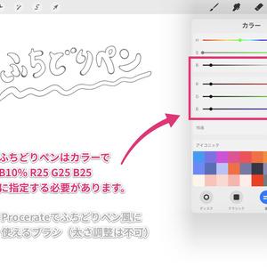 Procreateで使える漫画・イラスト用ブラシ50本セット ver.1.7