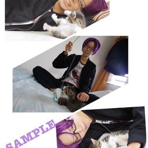 窪谷須亜蓮コスプレ写真集「亜蓮と子猫」