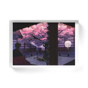 曙桜 Acrylic block