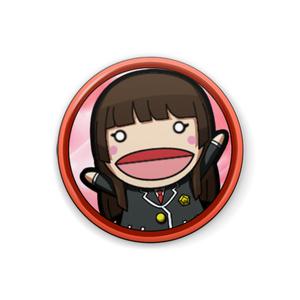 パペット缶バッチ(斬撃)