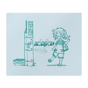 m.aqr.afのメガネ拭き