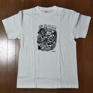プロレスメンTシャツ 白