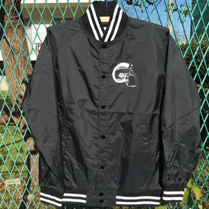 『ハイクラス!!』ナイロンスタジアムジャケット(ブラック / ホワイト・Sサイズ)