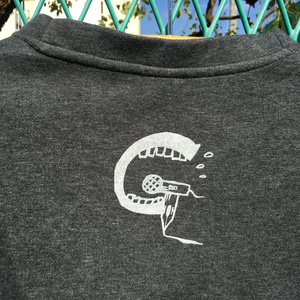 『ハイクラス!!』スウェットシャツ(グレー・Sサイズ)