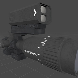 "RifleScope KS-01""Telegnosis"""