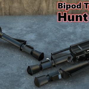 Bipod Type-H Hunt prop