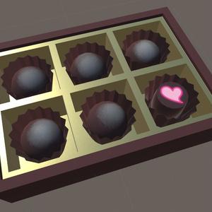 [3Dモデル]チョコレート