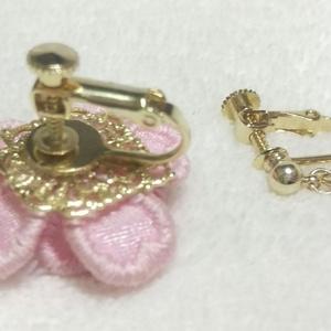 🌸誉れ桜の耳飾り 源氏ver