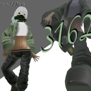 【スキニング済衣装】3162