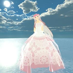 【スキニング済衣装】clothドレス