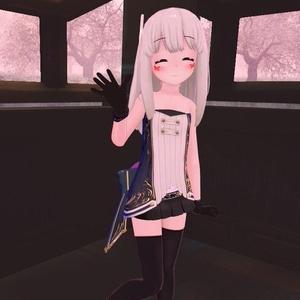 【スキニング済衣装】マイクロミニスカート