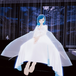 【スキニング済衣装】ネグリジェ