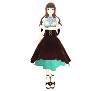 【スキニング済衣装】チョコミント