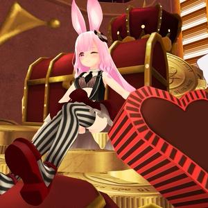 【スキニング済衣装】bunnywear