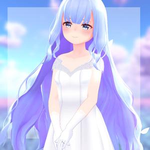 【スキニング済衣装】weddingdress