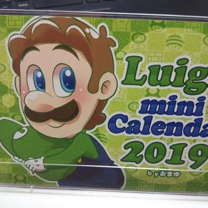 ルイージミニカレンダー2019