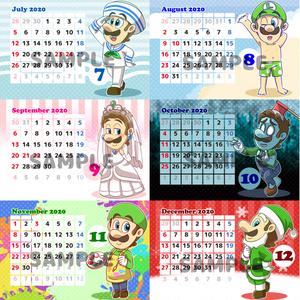 ルイージミニカレンダー2020