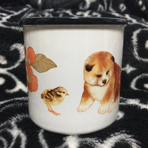 こいぬとひよこマグカップ