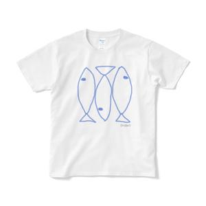 イワシTシャツ(ホワイト)