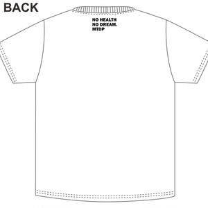 高度に抽象化された例の看板Tシャツ