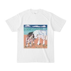 猫とヤギのtシャツ