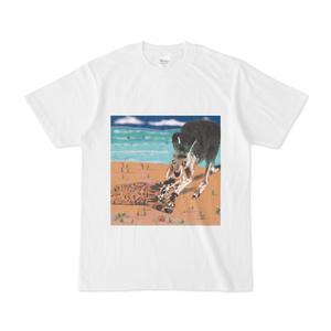 猫とカンガルーのtシャツ