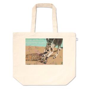 猫とカンガルーのトートバック