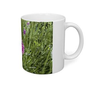 ヤグルマギクのマグカップ