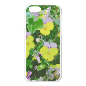 パンジー(紫と黄色)のiPhoneケース - iPhone 6 / 6s