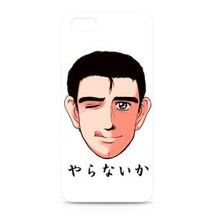 阿部さん ウインクVer. iPhone5・5Sケース
