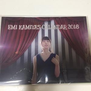 サイン入り加宮えみ2018卓上カレンダー