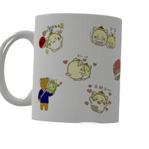 【あんしんBoothパック】ぷりにゃんマグカップ