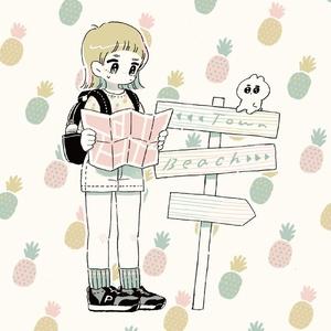 illustration book friend