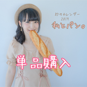 【業者発送】紗々カレンダー2019【単品購入専用】