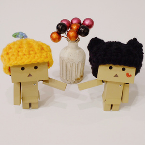 【手編み】ハロウィンニット帽mini