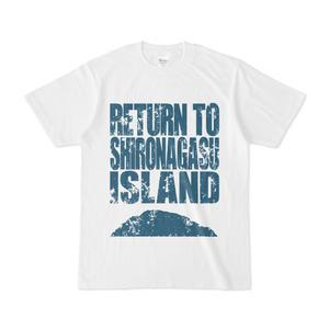 シロナガス島 白Tシャツ