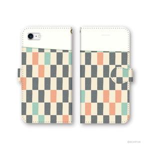 着物布団 手帳型iPhoneケース - iPhone5/5s・6/6s・6Plus/6sPlus・7/7Plus・8/8Plus・X/XS・XR・XSMax