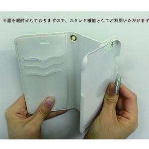 チョコアイス 手帳型iPhoneケース - iPhone5/5s・6/6s・6Plus/6sPlus・7/7Plus・8/8Plus・X/XS・XR・XS Max